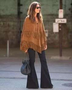 seventies-style-poncho