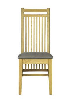 Bordeaux Staunton Chair (in faux suede)