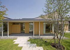 株式会社 才本設計アトリエ 『田園のコートハウス』  http://www.kenchikukenken.co.jp/works/1371602446/217/