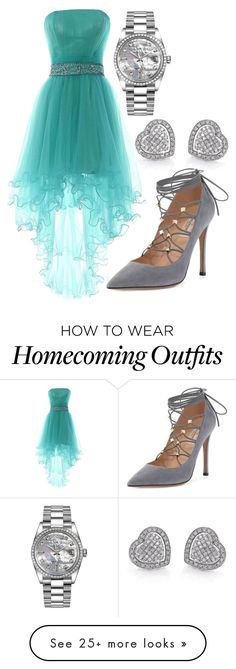 """""""Carly Yalden 6"""" by hannah-graves on Polyvore featuring Valentino and Rolex"""