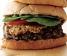 Black Bean Oat Burgers http://www.womenshealthmag.com/health/barbecue-recipes/black-bean-oat-burgers