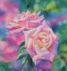 Simple-Watercolor-Painting-Ideas28.jpg (600×638)