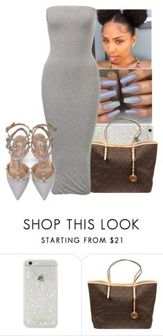 """""""Untitled #1154"""" by kandykuahgoddess ❤ liked on Polyvore featuring ban.do, MICHAEL Michael Kors and Valentino"""