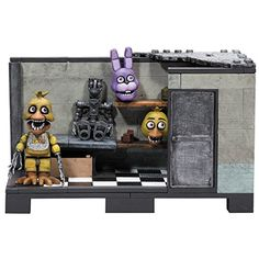 Ad - McFarlane Toys Five Nights at Freddy's Backstage 'Classic Series' Medium Cons. Five Nights At Freddy's, Toy Freddy Plush, Fnaf Lego Sets, Legos, Best Christmas Toys, Best Movie Posters, Freddy Fazbear, Classic Series, Building Toys