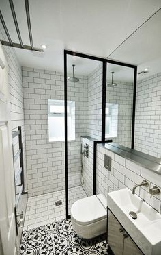Dream Master Bathroom Luxury is categorically important for your home. Whether you pick the Bathroom Ideas Master Home Decor or Master Bathroom Ideas Decor Luxury, you will create the best Luxury Bathroom Master Baths Wet Rooms for your own life. Shower Room, Bathroom Interior, Small Bathroom, Modern Bathroom, Small Shower Room, White Bathroom, Bathroom Tile Designs, Bathroom Decor