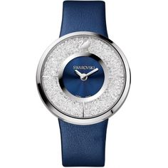 Swarovski Crystal Leather Watch In Nocolor Amazing Watches, Beautiful Watches, Cool Watches, Women's Watches, Wrist Watches, Cheap Watches, Stylish Watches, Luxury Watches, Swarovski Watches