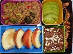 YAY! vegetarian lunch ideas.