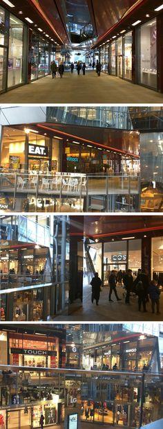One New Change em Londres: compras e vista da cidade