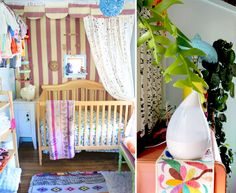 Justina Blakeney's nursery features many items from tottini!