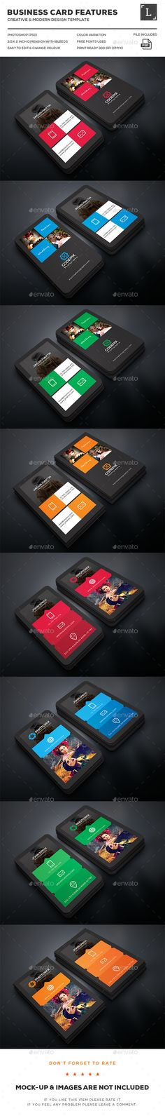 Photography Business Cards Bundle Templates PSD. Download here: http://graphicriver.net/item/photography-business-cards-bundle/16268808?ref=ksioks