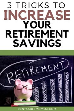 If you worry about whether you'll have enough savings at retirement, check out these 3 tips on how to increase your retirement savings without feeling the pinch on your budget. #savemoney #retiremetsavings #financialplanning Retirement Cards, Saving For Retirement, Early Retirement, Retirement Planning, Retirement Savings Plan, Retirement Funny, Ways To Save Money, Money Saving Tips, Money Tips