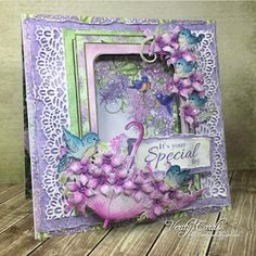 Special Day - Verity Cards - created with the Lush Lilac Collection from Heartfelt Creations - #HearfeltCreations #cardmaking #crafting #scrapbooking #lilacs #papercraft #spring