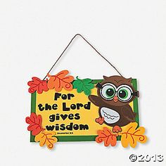 Wise Owl Bible Craft | Wisdom from the Lord