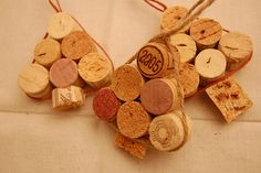 Cork tree ornament