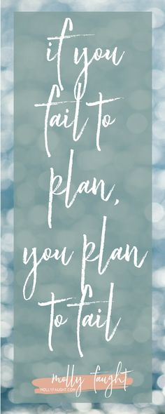 """""""If you fail to plan, you plan to fail"""" Best Meal Prep, Meal Prep For The Week, Money Quotes, Fun Quotes, Portion Control Diet, Meal Prep For Beginners, Finance Quotes, Motivational Quotes For Working Out, Weight Loss Meal Plan"""
