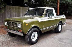 International Harvester Scout Pickup | eBay