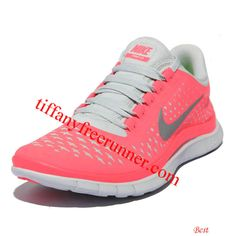 Nike Free 2013 3.0 V4 Hot Punch Reflective Silver Pure Platinum 511495 600