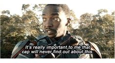 Sam Wilson. God help the poor soul who insults Steve in his presence.