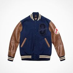 "Freshness on Tumblr, This OVO x Roots ""October"" Varsity Jacket is..."