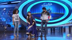 Sai Pallavi showing a dance step...