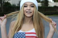 blonde-american-teen-and