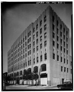 Art Deco New Center Building, 7430 Second Avenue, Detroit, Wayne County, MI