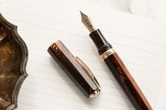 Visconti Medici Rose Gold Fountain Pen