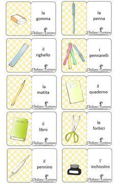 A scuola - Italianlanguageclass - L'Italiano da Lontano