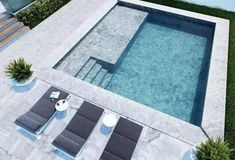 Amazing Swimming Pools, Small Swimming Pools, Small Backyard Pools, Small Pools, Swimming Pool Designs, Backyard Patio, Outdoor Pool, Small Pool Design, Swimming Pool Landscaping