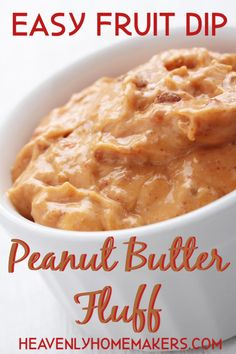 Want an easy recipe that will encourage your kids to help you in the kitchen and motivate them to eat fruit too? Come get this Easy Peanut Butter Fluff Fruit Dip recipe! Dip Recipes, Real Food Recipes, Yummy Recipes, Free Recipes, Homemade Peanut Butter, Creamy Peanut Butter, Jello Pudding Pops, Easy Fruit Dip, Healthy Foods To Eat