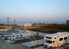 Ocean Side RV Park At Port Lavaca Texas