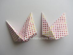 Origami Modular Roulette Step 9