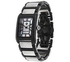 Judith Ripka Stainless Steel Lexington Watch