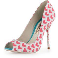 Sophia Webster Peron Hearts Peep-Toe