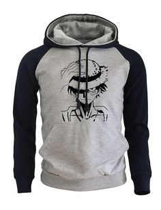 Fear White beard Hoodie Ace pirates Funny One piece Black Anime jumper Top Mens