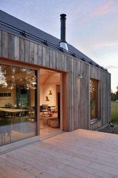 WOOD House Design Interior and Exterior Creative Ideas Modern House Ideas For You After leaving Amazing Architecture, Architecture Design, Farmhouse Architecture, Exterior Design, Interior And Exterior, Wood House Design, Wood Design, Modern Barn House, Modern Wooden House