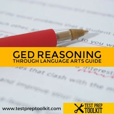 While most people find the #GED #LanguageArts relatively easy, it's best to be prepared. Find out what the test covers, and how essays will be scored. We have also compiled tips to make it easier for you to ace the reading comprehension. #Study #Guide #GEDTest #GEDStudy #TestPrepToolkit #reading