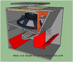 Ukuran Box Sub Reflex 18 inch Model Apex Subwoofer Box Design, Speaker Box Design, High End Speakers, Diy Speakers, Loudspeaker Enclosure, Passive Radiator, Speaker Plans, Audiophile Speakers, Audio Design
