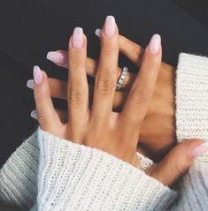 simple rose pink nail arts - nail art ideas
