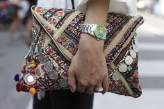 Streetstyle milan fashion week september 2012