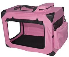 WANT!  Pet Gear Generation II Deluxe Portable Soft Crate for cats and dogs up to 30