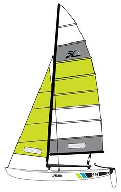 Hobie 16 Catamaran Sailboat The Hobie 16 revolutionized multihull sailing. The Hobie 16 was unleashed on the Southern California beach scene in 1970 and sailing was instantly transformed. The beach-launched Hobie 16 brought the sport Southern California Beaches, Beach Scenes, Catamaran, Sailing, Sailboats, Hobbies, Ink, Glass, Candle