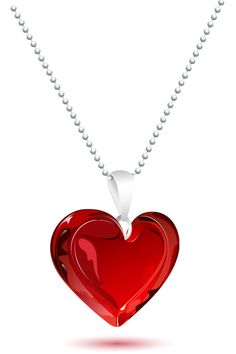 Eye-catching and beautiful, this heart pendant is sure to get people's attention.