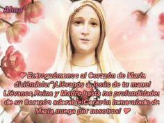 """Entreguémonos al Corazón de María diciéndole: """"¡Llévanos a Jesús de tu mano! ¡Llévanos, Reina y Madre, hasta las profundidades de su Corazón adorable! ¡Corazón Inmaculado de María, ruega por nosotros!"""