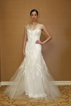 Decorative Décolletage from Spring 2014 - Wedding Dresses and Fashion Ideas