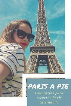 Algunos itinerarios para recorrer Paris caminando! Hay para todos los gustos. #francia #paris #caminar #parisapie Oh The Places You'll Go, Places To Travel, Places To Visit, Tour Around The World, Around The Worlds, Francia Paris, Belle France, To Infinity And Beyond, Round Trip