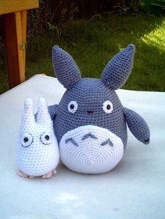 crocheted Totoro!