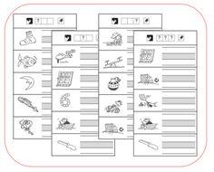 TaalSchrijven - Schrijf wat je hoort - Kern 1 Kids Behavior, Play To Learn, Kids House, Grade 1, Spelling, Circuit, Back To School, Classroom, The Unit