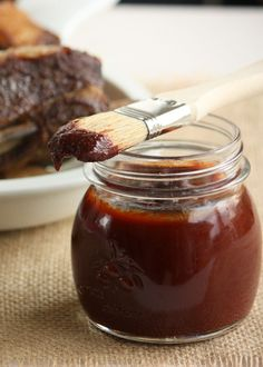 Honey Chipotle BBQ Sauce - Quick, easy and lip smacking good over brisket, ribs, grilled chicken and even burgers.