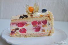 Diplomat cu fructe si frisca Savori Urbane (3) Food Cakes, Vanilla Cake, Cake Recipes, Pudding, Desserts, Training, Cakes, Tailgate Desserts, Deserts